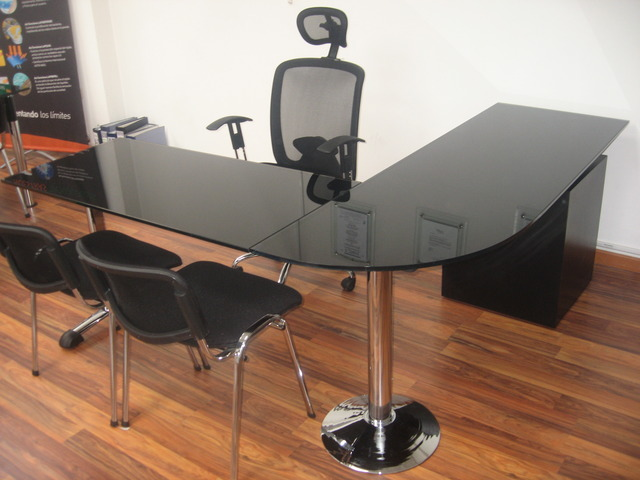 Muebles bogota muebles oficina sillas archivadores escrtitorio vidrio total - Muebles de vidrio ...